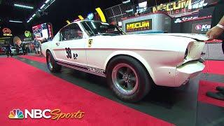 Mecum Auctions: 1965 Shelby GT350R Prototype sells for MILLIONS | Motorsports on NBC