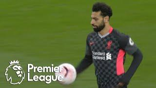 Mohamed Salah's second goal pulls Liverpool within three of Villa   Premier League   NBC Sports