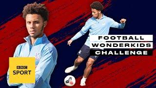 Crystal Palace's Zion Atta has got some touch! | Football Wonderkids Challenge