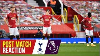 Post Match Reaction | Ole Gunnar Solskjaer and Scott McTominay | Manchester United