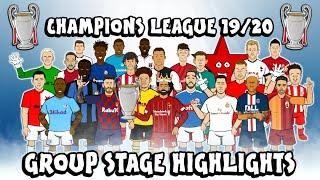 UCL GROUP STAGE HIGHLIGHTS 2019/2020 (UEFA Champions League Best Games and Top Goals)