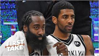 Could James Harden or Kyrie Irving score 100 points in a game? | First Take