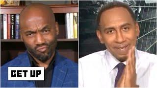 Stephen A. calls out Louis Riddick's take on Cam Newton and Jarrett Stidham | Get Up