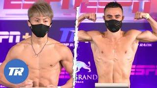 Inoue vs. Moloney: Weigh-In