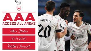 ACCESS ALL AREAS | Molde 0-3 Arsenal | Unseen footage of our Europa League trip!