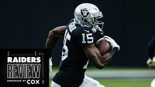 Nelson Agholor's Football Savvy Contributes To Impressive Start   Raiders Review   Las Vegas Raiders