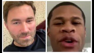 DEVIN HANEY & EDDIE HEARN DISCUSS HEATED TWITTER BEEF WITH RYAN GARCIA / CALLS OUT EVERY LIGHTWEIGHT