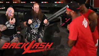 The Street Profits & Viking Raiders brawl in parking lot: WWE Backlash 2020 (WWE Network Exclusive)