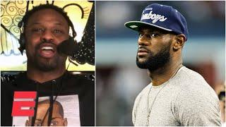 I would've knocked all of LeBron James' follicles out on the NFL field – Bart Scott | Bart & Hahn