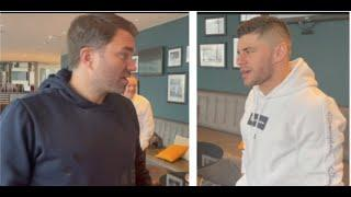 'HE SAID HE WILL CAVE YOUR HEAD IN' - EDDIE HEARN TELLS FLORIAN MARKU, WHO RESPONDS BRUTALLY BACK