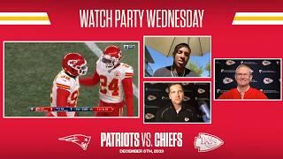2019 Week 14: Chiefs at Patriots | Watch Party Wednesday