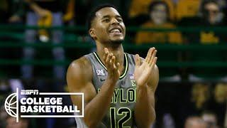 No. 2 Baylor Bears stay undefeated with win over No. 9 Kansas Jayhawks [HIGHLIGHTS] | NBA on ESPN