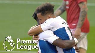 Andros Townsend gives Crystal Palace early edge against Man United | Premier League | NBC Sports
