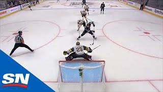 Jeff Carter Comes In On Breakaway & Slides Puck Five-Hole On Marc-Andre Fleury