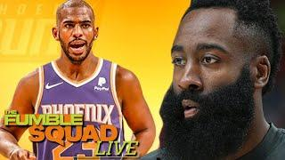 James Harden Wants Out, Chris Paul Traded To The Suns, NBA Trade Season In Full Effect | Fumble Live