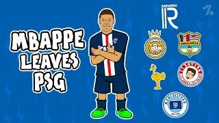 Which club would Mbappe LEAVE PSG for?  Onefootball x 442oons