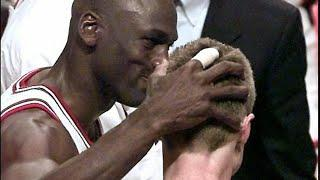 The Time Michael Jordan Punched Steve Kerr In The Face & All The Other People He Fought
