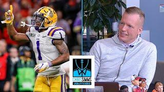 Chris Simms WR draft rankings: No. 1 Ja'Marr Chase | Chris Simms Unbuttoned | NBC Sports