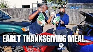 Cowboys Early-Thanksgiving Meal | Dallas Cowboys 2020