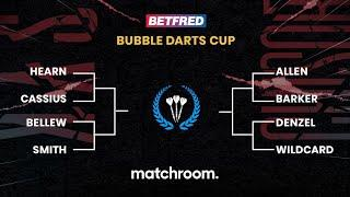 Betfred Bubble Darts Cup ft Hearn/Bellew/Cassius/Allen & more! (Usyk vs Chisora)