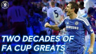 Two Decades of Chelsea's FA Cup Greatest Hits Ft. Lampard, Drogba, Matic & More