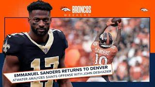 Saints senior writer John DeShazier previews Emmanuel Sanders' return to Denver | Broncos Weekend