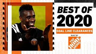The Best 15 INCREDIBLE Acrobatic Goal Line Clearances of 2020!