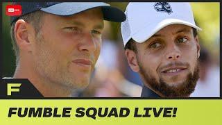 Stephen Curry JEALOUS He Was Not Playing In Golf Tournament With Tom Brady | Fumble Live