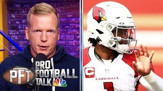Why Chris Simms thinks Kyler Murray was 49ers defense's kryptonite | Pro Football Talk | NBC Sports