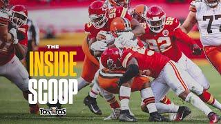 Chiefs Defense Makes Critical Late Stand vs. Browns | Inside Scoop Divisional Playoffs