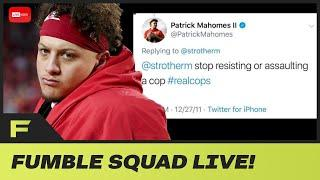 Patrick Mahomes CALLED OUT For Hypocrisy After #JusticeForFloyd Message! | Fumble Live