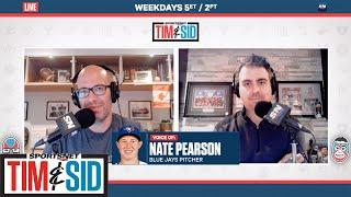 Nate Pearson Reflects on Successful Major League Debut | Tim and Sid