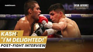 Kash Farooq impresses on Matchroom debut vs Aviles, talks potential McGregor rematch