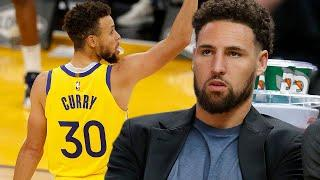 Klay Thompson Sends Hilarious Message To Steph Curry After He Beat His All Time Scoring Record