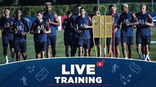 ️ L'entraînement en direct de Faro à J-2 de Atalanta Bergame - Paris Saint-Germain !