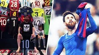 This surprising jersey in Messi's collection shows how classy he is   Oh My Goal