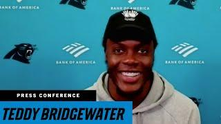 Teddy Bridgewater says when plays break down, you just figure it out