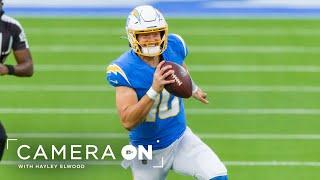 """Justin Herbert Reacts to Winning Offensive Rookie of the Year, """"It means a ton""""  