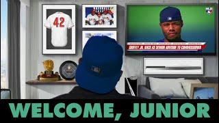 Welcome to MLB, Junior. (Ken Griffey Jr. joining MLB as a Senior Advisor to the Commissioner)