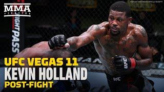 UFC Vegas 11: Kevin Holland Details Khamzat Chimaev Run-In: 'He Called Me 'The Help' - MMA Fighting