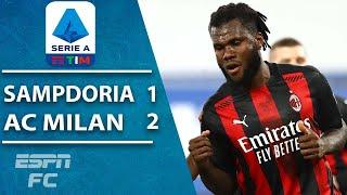 Milan keeps rolling without Zlatan Ibrahimovic in win vs. Sampdoria | ESPN FC Serie A Highlights