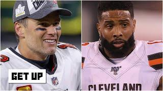 How likely is a Tom Brady-Odell Beckham Jr. partnership on the Bucs? | Get Up