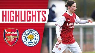 HIGHLIGHTS   Arsenal Academy vs Leicester (2-1) Sweet, Hutchinson with the goals