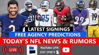 NFL Free Agency LIVE, Latest NFL News, Russell Wilson Trade Rumors, Free Agent Predictions In 2021