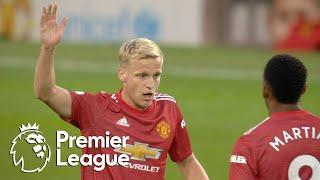 Donny van de Beek's debut goal gives Man United hope v. Crystal Palace | Premier League | NBC Sports