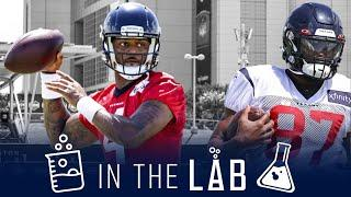 A Look at Deshaun Watson's Wide Receivers and Tight End Group | In the Lab