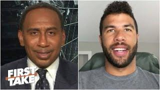 Bubba Wallace is confident NASCAR will continue to push diversity & inclusion efforts | First Take
