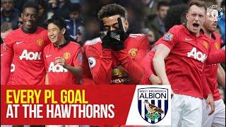 Every PL goal at West Brom | Premier League 2020/21 | Manchester United