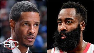 Houston Rockets head coach Stephen Silas says he's giving James Harden 'space' | SportsCenter