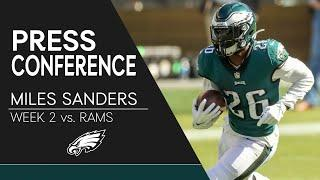 Miles Sanders: Eagles are Capable of Bouncing Back from 0-2 Start | Eagles Press Conference
